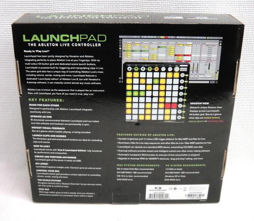 novation launchpad ableton live 8 edition standard midi controller device ebay. Black Bedroom Furniture Sets. Home Design Ideas