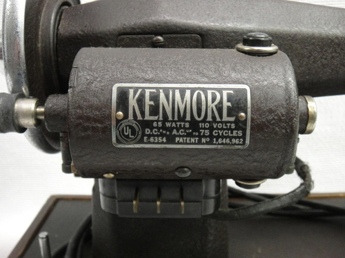 Vintage Kenmore Franklin Deluxe Rotary Sewing Machine 117