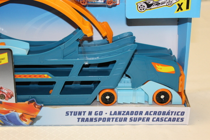 Hot Wheels Stunt n Go Track Set Mattel DWN56