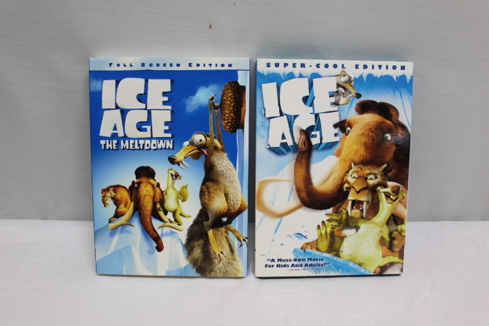 Two Ice Age 2 The Meltdown Super Cool Edition Dvd Full Screen Ebay