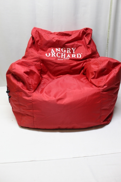 Superb Details About Angry Orchard Big Joe Red Beanbag Chair Uwap Interior Chair Design Uwaporg