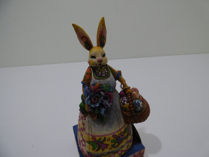 Enesco Jim Shore Heartwood Creek Mini Bunny with Carrot 6003621