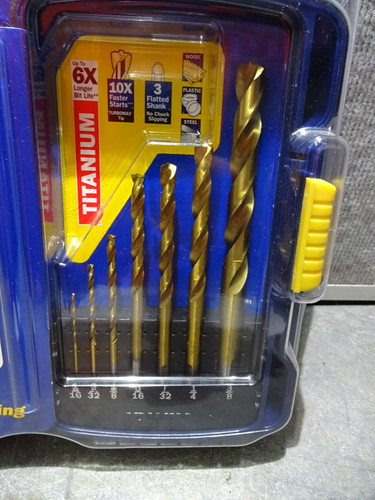"""Irwin #73318 9//32/""""turbomax Drill Bit"""