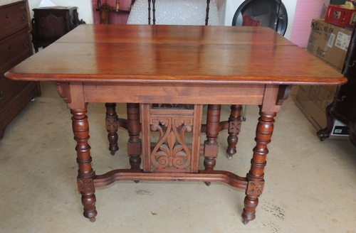 Dining Table Antique Eastlake Dining Table