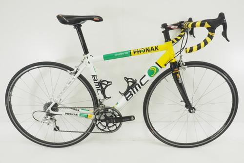 BMC Streetfire SSX Team Phonak Road Bicycle Size M Aluminum Frame ...