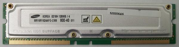 Samsung RAM Memory 128MB MR16R1624AFO-CM8