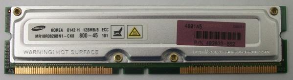 Samsung 128MB/8ECC 800-45 MR18R0828BN1-CK8 Module