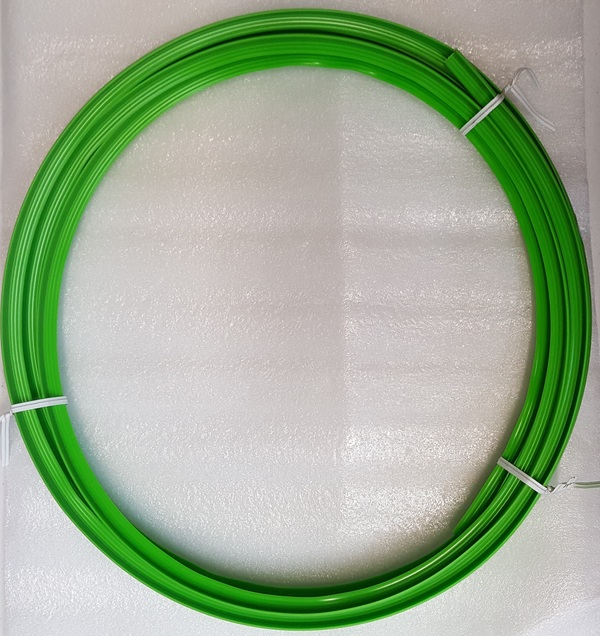 11 ft. of 3/4 in. Width Green Plastic T-Molding for Arcade Cabinets