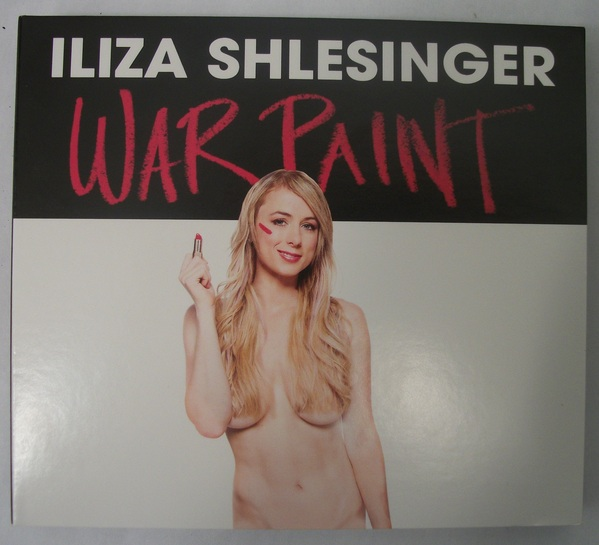 Iliza Shlesinger - War Paint - DVD / CD Combo - 2013 - New Wave Dynamics