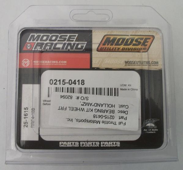 Moose Racing Front Wheel Bearing Kit Polaris Ranger 800 RZR 0215-0418