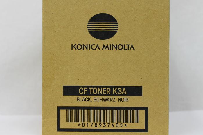 NEW 8937-405 MINOLTA CF TONER BLACK K3A
