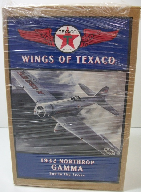Ertl Collectibles 1932 Northrop Gamma, Wings of Texaco Coin Bank