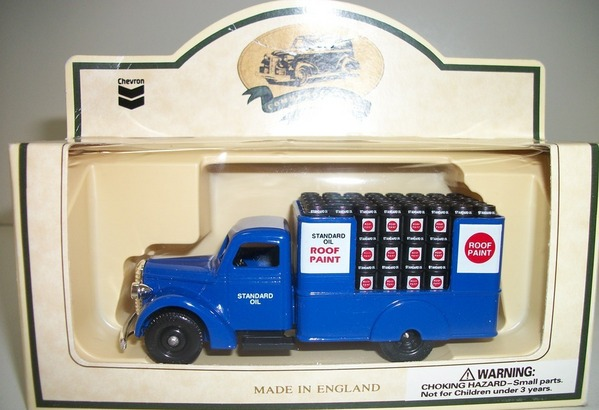 Chevron Promo #17 Diecast 1939 Roof Coating Flat Bed by Lledo