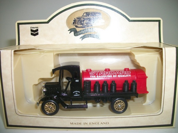 Chevron Promo Diecast  #10 Red Crown Gasoline Truck by Lledo