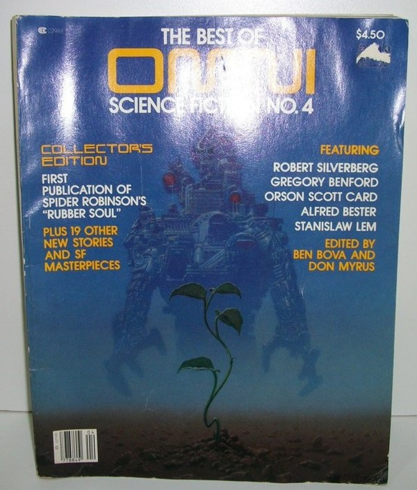 The Best of OMNI Science Fiction No. 4 Collector's Edition 1982