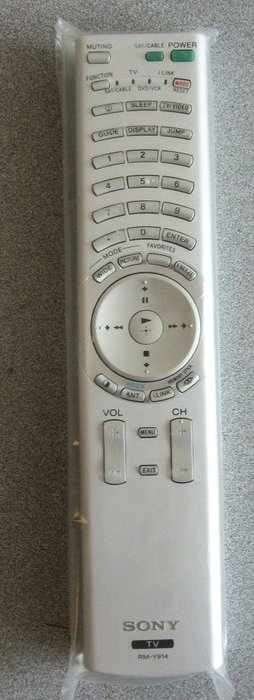 Brand New Sony Remote RM-Y914