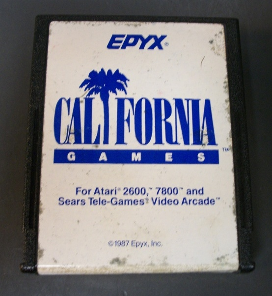 California Games For Atari 2600, 7800 and Sears Tele-Games