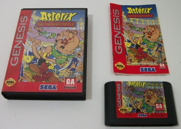 Asterix and the Great Rescue for Sega Genesis
