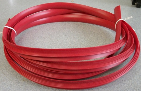 RED 11 FOOT x 3/4 INCH BRAND NEW T-MOLDING FOR ARCADE CABINETS