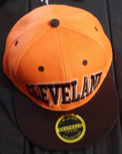 Brand New Clevand Browns Hat Orange and Brown