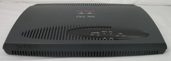 Used Cisco 1604R Bridge/Modular Router - ISDN NT1 - w/4 MB Fast Flash Card