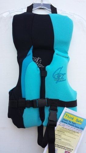Competition Zone Neoprene Life Vest Jacket size Infant USCG Approved 9300-7474