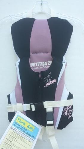 Competition Zone Neoprene Life Vest Jacket size Infant USCG Approved 9300-7480