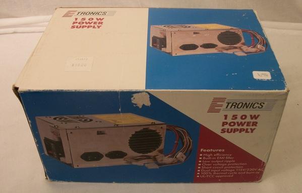 New Etronics 150w Power Supply