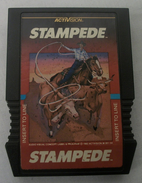 Stampede Game Cartridge for Intellivision - Game Only