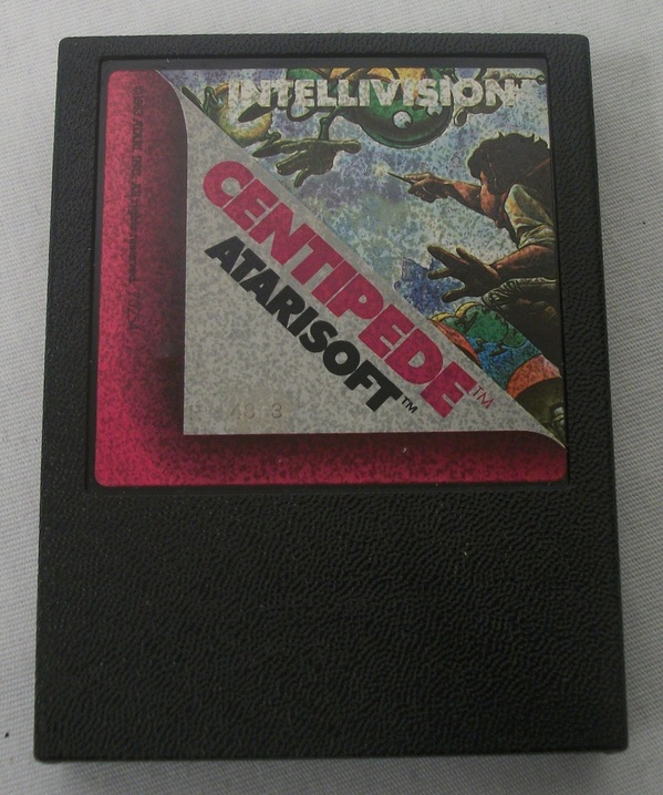 Centipede for Intellivision Atarisoft label