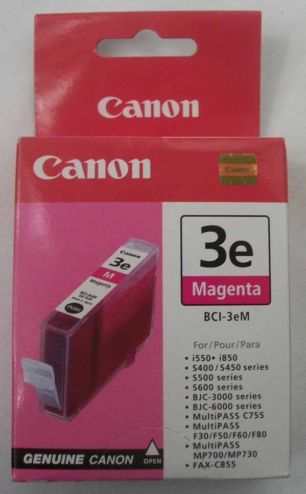 New in Box Cannon Magenta Ink Tank Model BCI-3eM