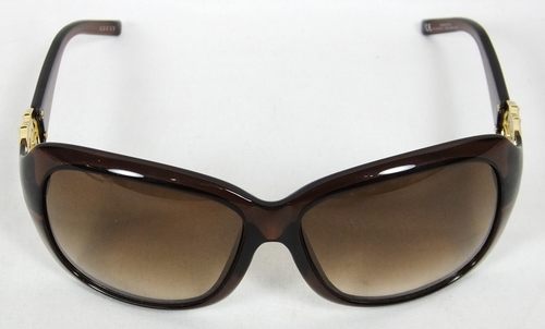 eaff55b95 Gucci Womens Sunglasses GG 3044/FS 87E02 60 14 120 Brown Shades Glasses NEW
