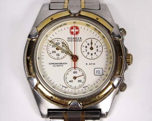 Genuine Wenger Sak Design Men S Chronograph Watch 3