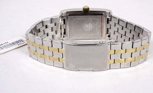 c958f9412 Bulova Corporate Classic 98A137 Two Tone Plated Mens Analog Watch  Wristwatch NEW