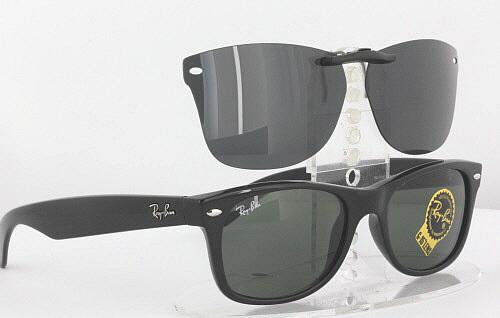 7c5939e2e2 Details about Custom Fit Polarized CLIP-ON Sunglasses For Ray-Ban 2132  52x18 Rayban RB2132