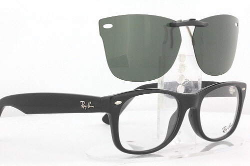 456c90078bf Custom Fit Polarized CLIP-ON Sunglasses For Ray-Ban 5184 50x18 ...