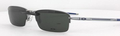 250fccad88 Custom Fit Polarized CLIP-ON Sunglasses For Oakley RHINOCHASER OX3111 54x19  3111