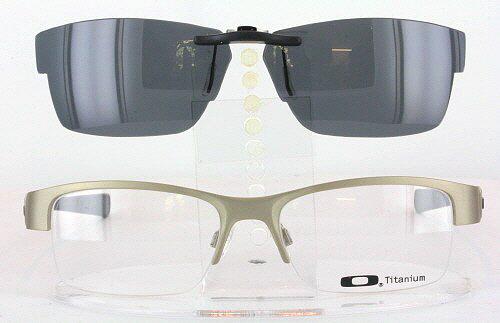 0ff08f19dfb Custom Fit Polarized CLIP-ON Sunglasses For Oakley GASSER 0.5 OX5088 54x18  5088