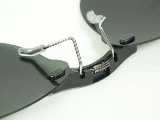 68158a6cec Custom Fit Polarized CLIP-ON Sunglasses For Tag Heuer TH0341 52x17 ...