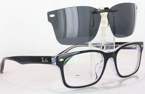 e5d175d5350 Details about Custom Fit Polarized CLIP-ON Sunglasses For Ray-Ban RB5286  53X18 5286