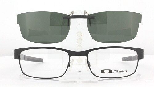9f71b9acfda Custom Fit Polarized CLIP-ON Sunglasses For Oakley METAL PLATE OX5038 53x18  5038