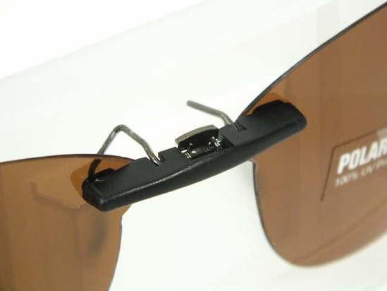 bb7ada354b Custom Fit Polarized CLIP-ON Sunglasses For Oakley CROSSLINK OX8027 53x17  TAB