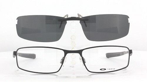 78ce66a0bdb Custom Fit Polarized CLIP-ON Sunglasses For Oakley SOCKET 4.0 53x18 ...