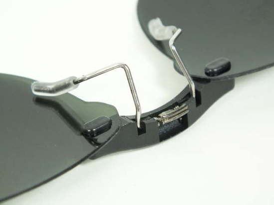 e5567eeb05 Custom Fit Polarized CLIP-ON Sunglasses For RAY-BAN RB6238 55x17-TAB Rayban  6238