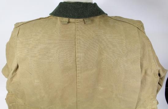0ee74fc1bc448 Filson Heavy-Duty Hunting Jacket TIN CLOTH/SKIN Men's 46 Style 66 TAN  Vintage