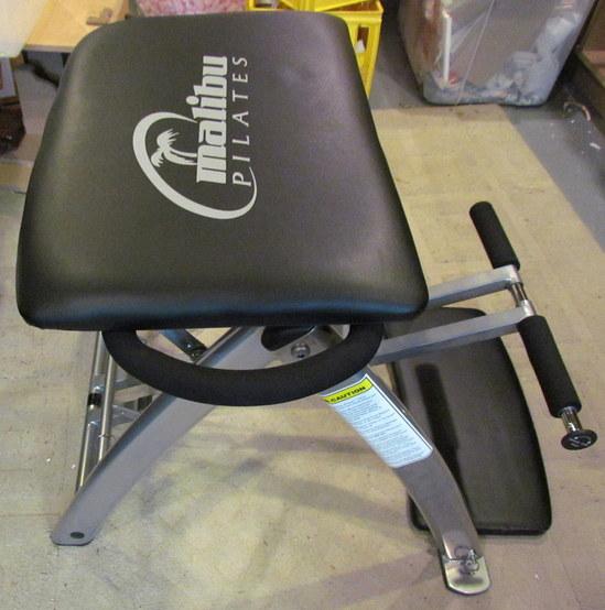 Malibu Pilates Pro Exercise Chair: MALIBU PILATES CHAIR Yoga Exerciser Flexible Resistance