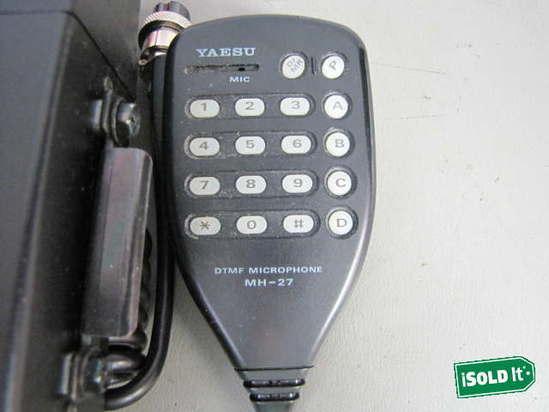 yaesu ft 2200 2 meter fm transceiver ham radio w mh 27. Black Bedroom Furniture Sets. Home Design Ideas