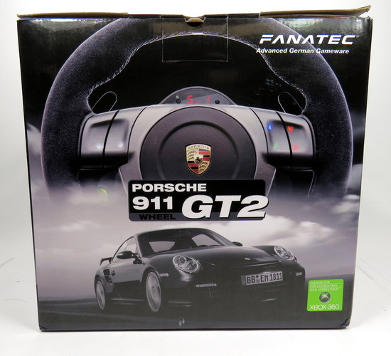 In Box Fanatec Porsche 911 Gt2 Simulator Sim Gaming