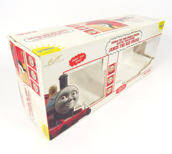 LIONEL JAMES THE RED ENGINE THOMAS THE TANK TRAIN LOCOMOTIVE G SCALE ...