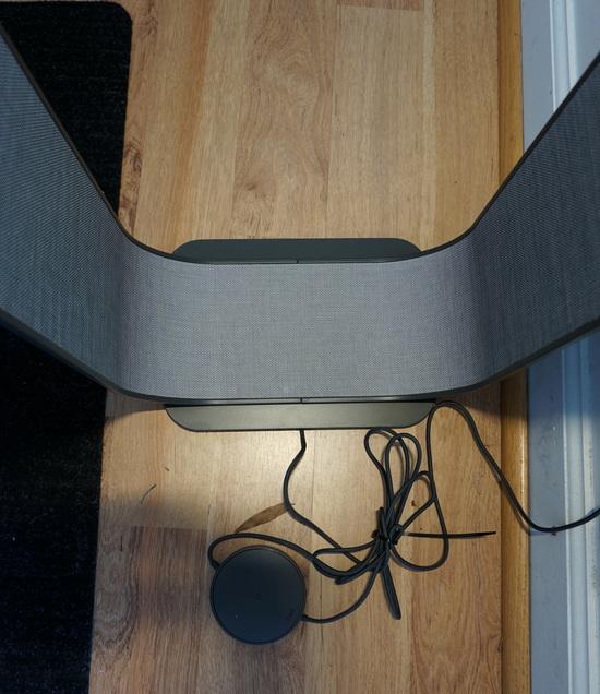 Pablo Designs Contour 60 Quot Led Column Floor Lamp Graphite